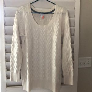 Cashmere sweater maternity